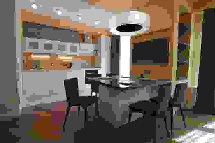 Bellarte interior studio Minimalist living room Yellow
