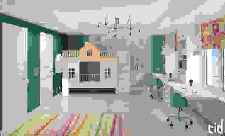 Детская для двух детей Детские комната в эклектичном стиле от Center of interior design Эклектичный