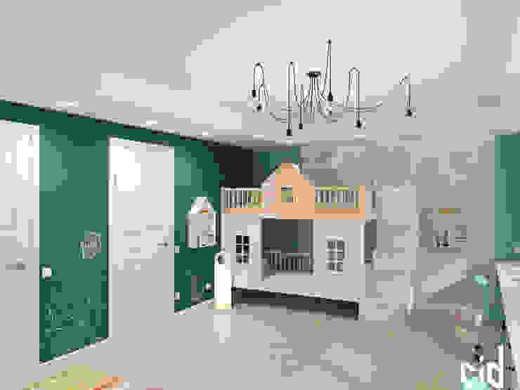 غرفة الاطفال تنفيذ Center of interior design, إنتقائي