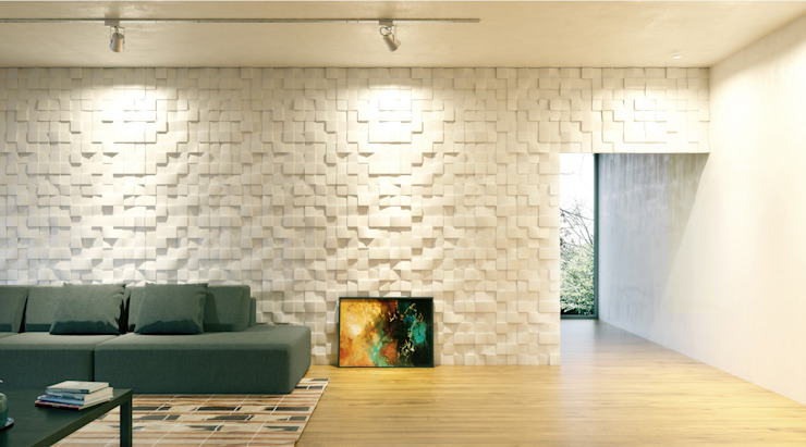 Artpanel 3D Wall Panels Salas/RecibidoresAccesorios y decoración Blanco