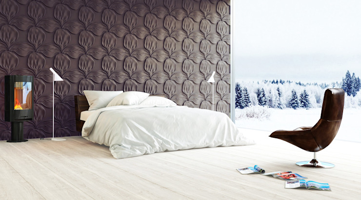 Bedroom by Artpanel 3D Wall Panels , Scandinavian