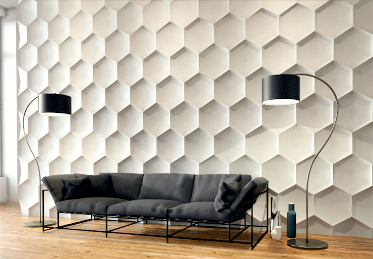 Artpanel 3D Wall Panels Walls & flooringWall tattoos White