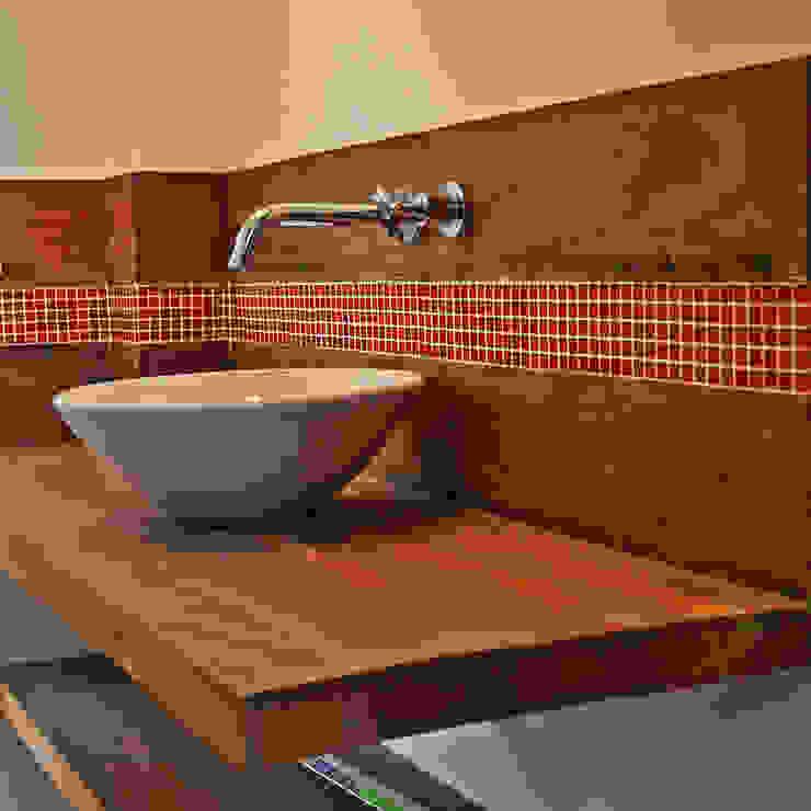 Banheiro Suite BF Sustentabilidade, Arquitetura e Iluminação Banheiros ecléticos
