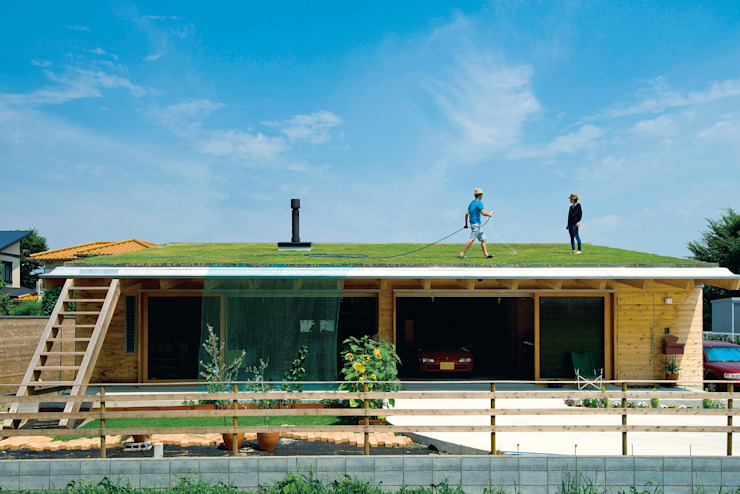 外観|BEAT HOUSE KAZ建築研究室 オリジナルな 家 木
