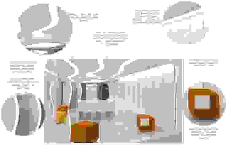 DETALLES CARACTERÍSTICOS DEL PROYECTO de CelyGarciArquitectos c.a. Minimalista Compuestos de madera y plástico