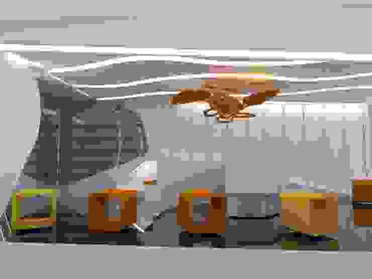 VISTA INTERIOR LATERAL de CelyGarciArquitectos c.a. Minimalista Compuestos de madera y plástico