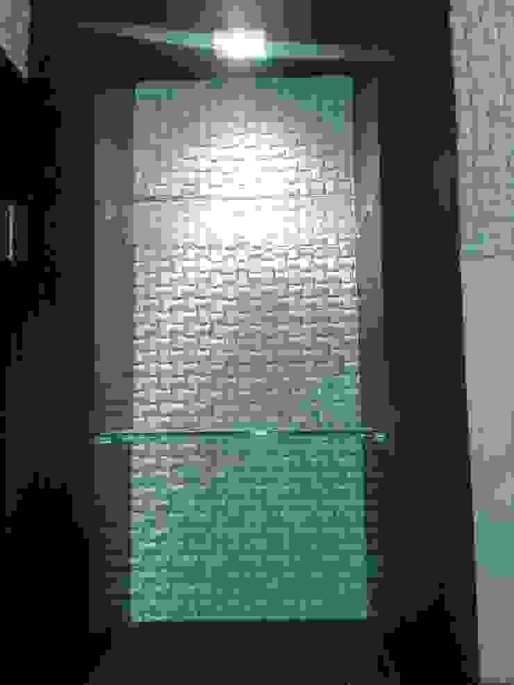 CelyGarciArquitectos Ванна кімната Мармур Бежевий