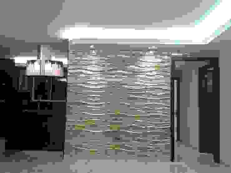 CelyGarciArquitectos Вітальня Білий