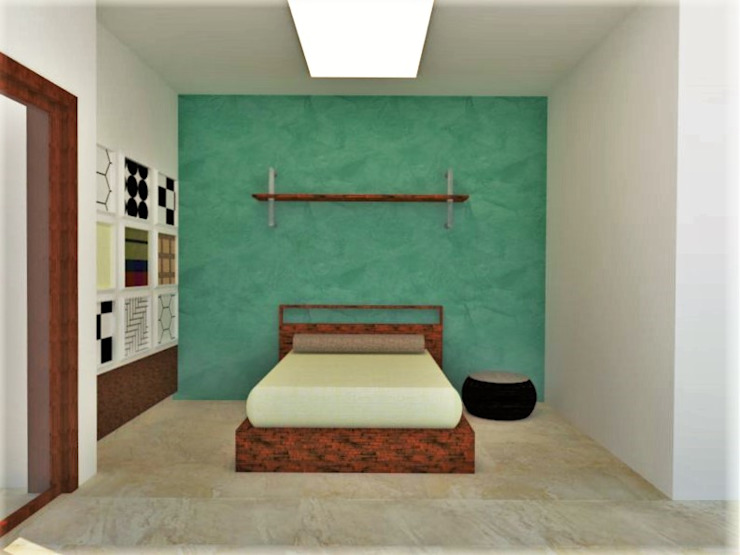 Kids Bedroom Minimalist bedroom by Urban Shaastra Minimalist
