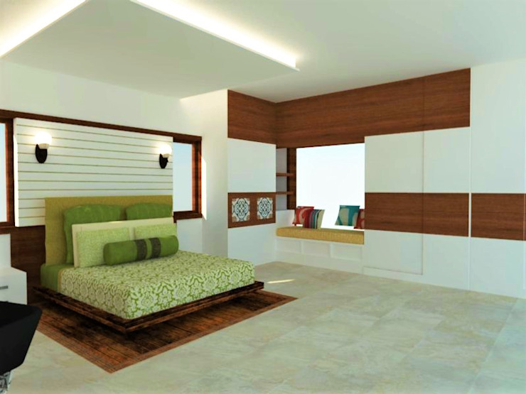 Master Bedroom by Urban Shaastra Classic
