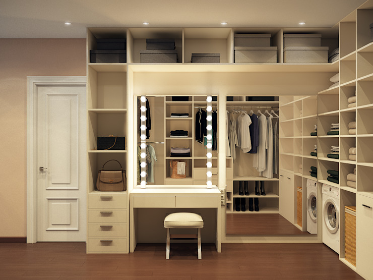 Modern style dressing rooms by Alyona Musina Modern