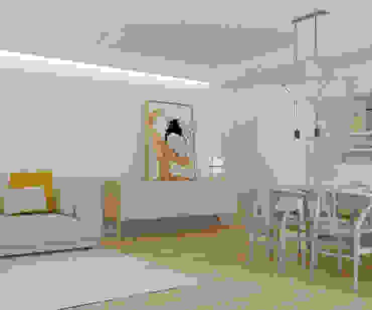 โดย Studio Transparente เมดิเตอร์เรเนียน ไม้ Wood effect