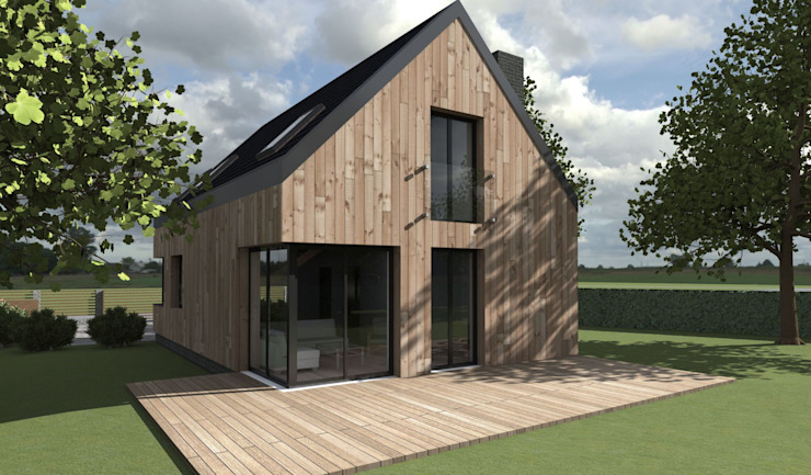 Scandinavian style houses by 2L_studio Scandinavian Wood Wood effect
