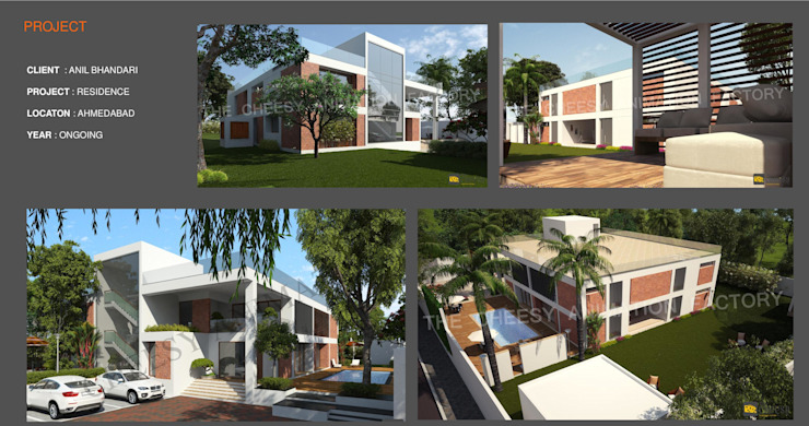 Ujjval Fadia Company Profile Modern houses by Ujjval Fadia Architects & Interior Designers Modern