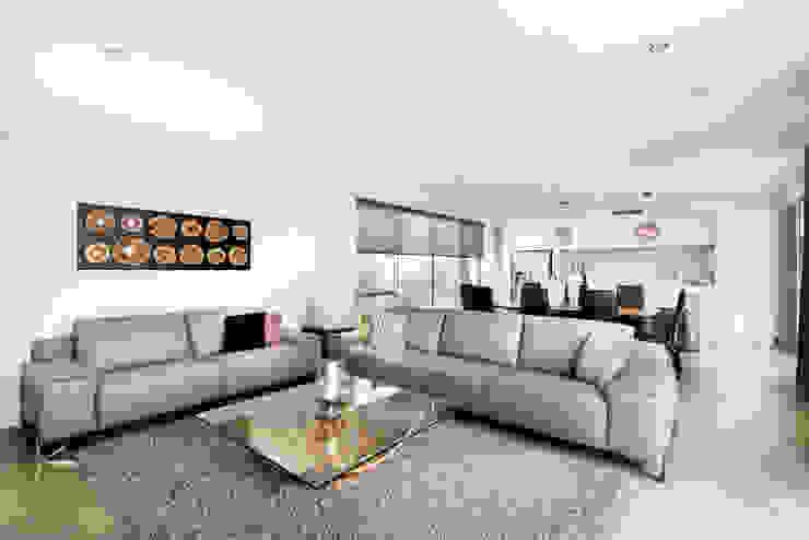 Living Room Salones modernos de Moda Interiors Moderno Azulejos