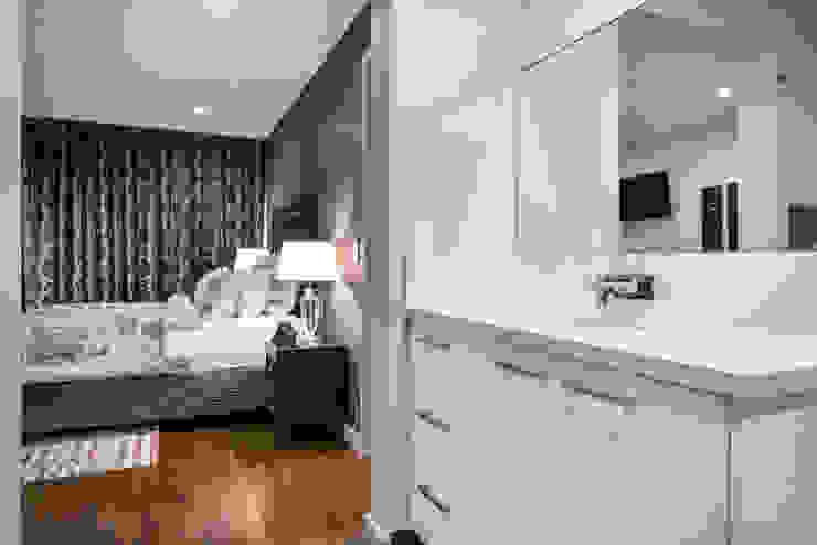 Master Suite Dormitorios modernos de Moda Interiors Moderno Madera Acabado en madera