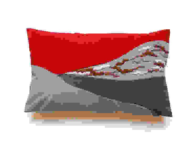Hill red por My Friend Paco Moderno Têxtil Ambar/dourado