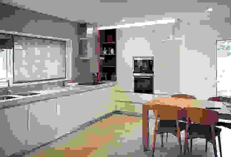 House in Lavra, Matosinhos Minimalistische Küchen von ASVS Arquitectos Associados Minimalistisch