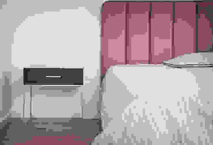 Casa em Lavra, Matosinhos Quartos minimalistas por ASVS Arquitectos Associados Minimalista