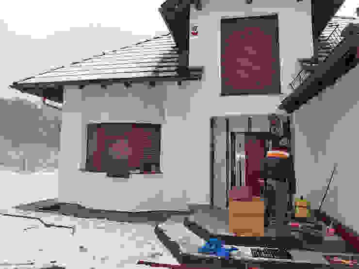Realizacja elewacji drewnianej w Zielonej Górze. od PHU Bortnowski