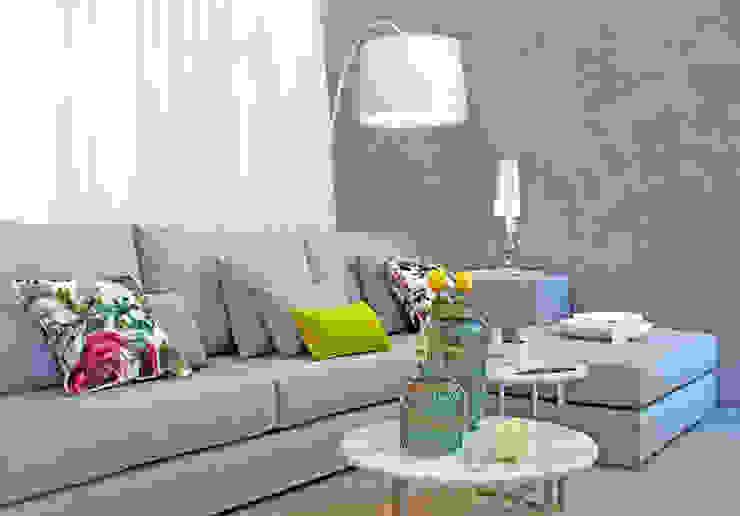 Novidades que enchem a sala de estar por Entre Led e Design Eclético Mármore
