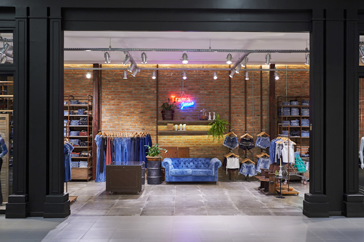 Piloni Arquitetura Eclectic style shopping centres