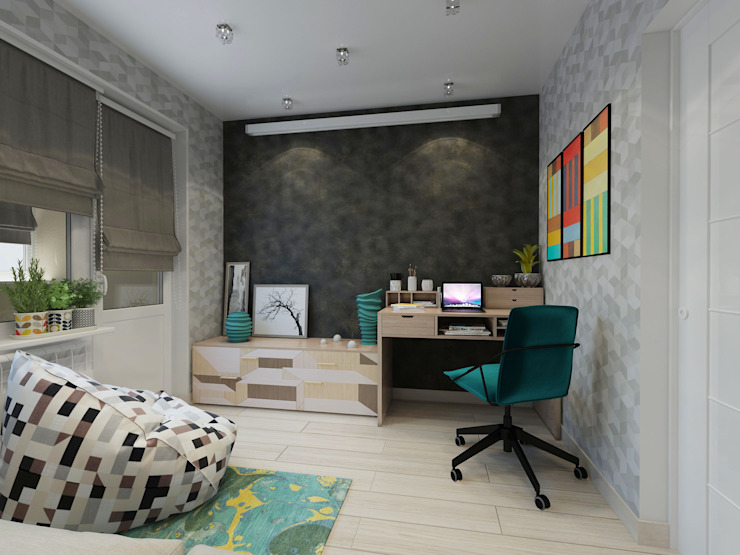 ДизайнМастер Industrial style bedroom