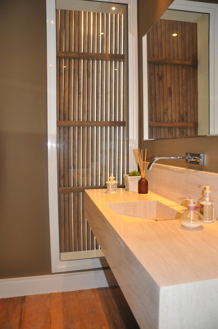 LAVABOS Banheiros modernos por Clô Vieira Design de Interiores Moderno