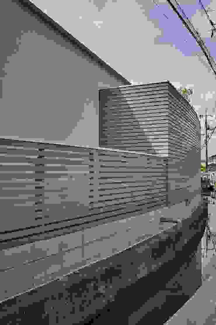 toki Architect design office Maisons modernes Bois Gris