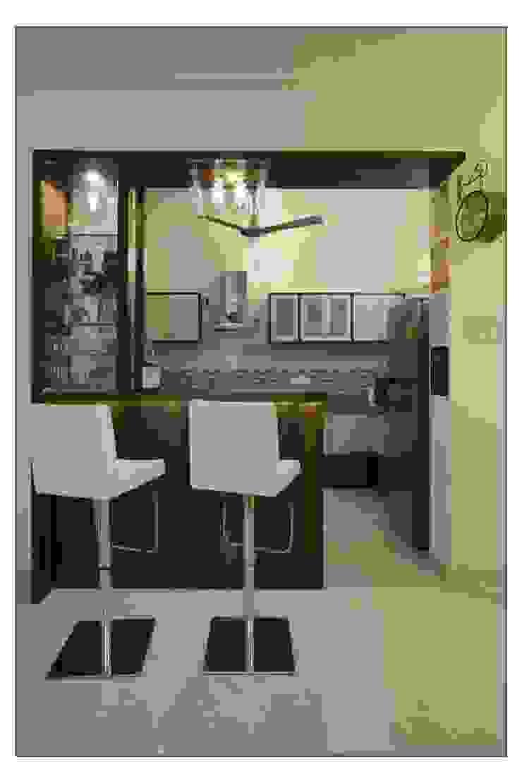 Residential Apartment on Bund Garden Road, Pune: modern  by Navmiti Designs,Modern