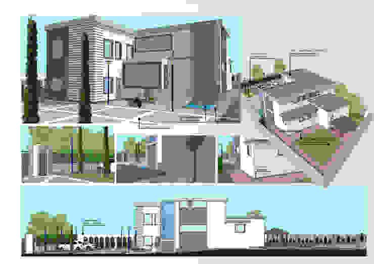 Rumah Modern Oleh Architetto Vincenzo CERULLO Modern