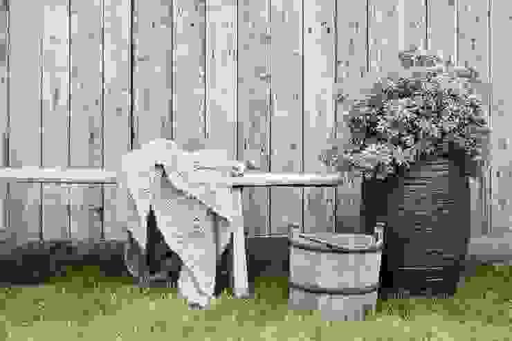 Capi Nature Row - Vase elegant deluxe Anthracite van Capi Europe Rustiek & Brocante Aardewerk