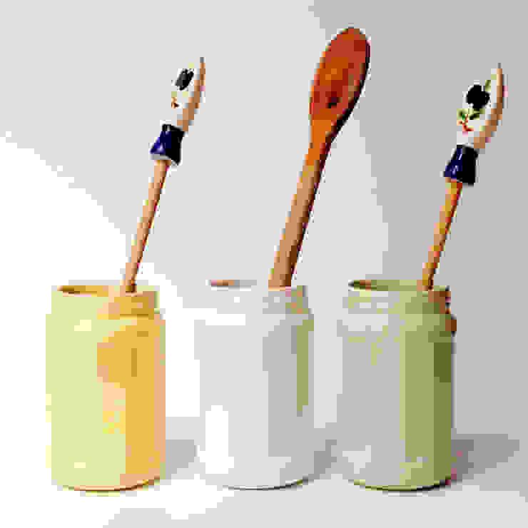 Bizcocho CasaAccessori & Decorazioni Ceramiche Verde