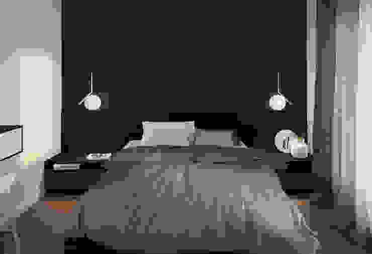 Mohav Design Chambre minimaliste Noir