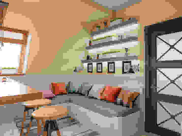Mediterranean style dining room by Ателит Mediterranean