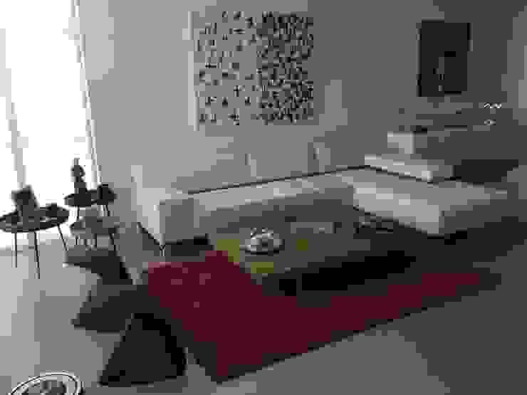 Proyecto Boca Ratón, Estado de la Florida. USA THE muebles Salas de estilo moderno