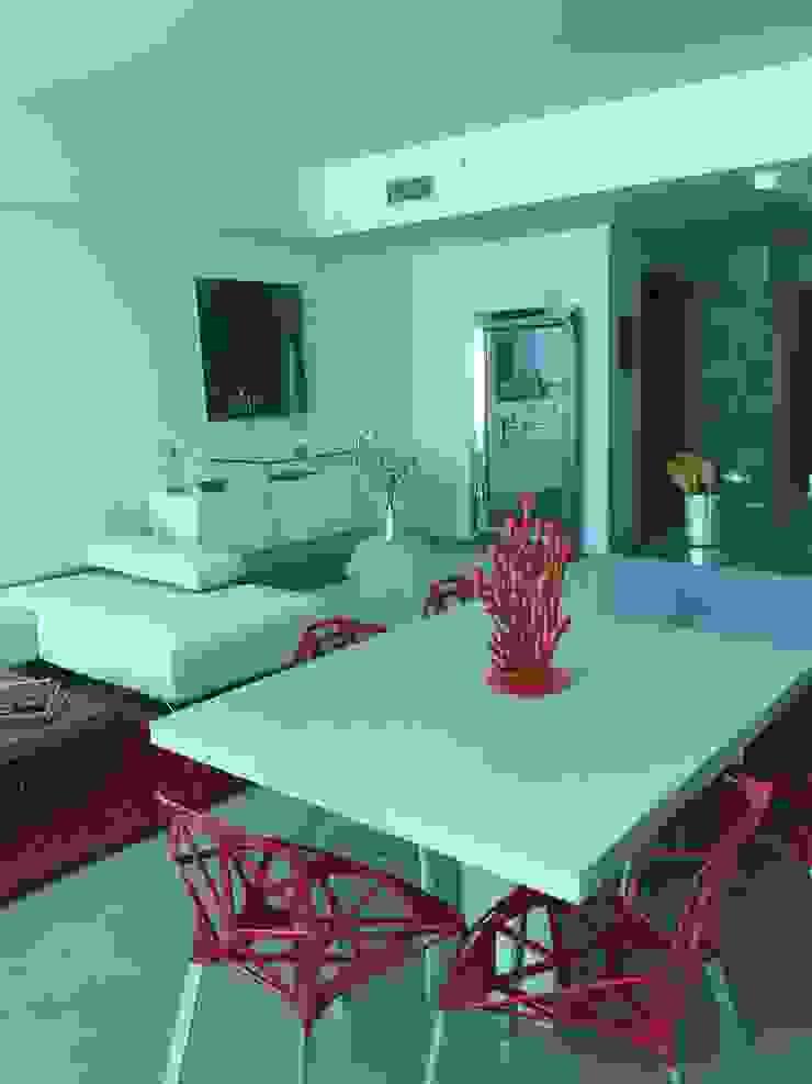 Proyecto Boca Ratrón, Estado de la Florida. USA THE muebles Comedores de estilo moderno