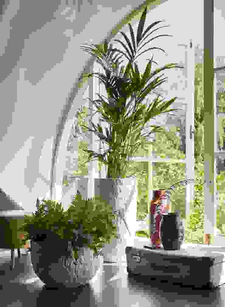 Capi Nature Indoor - Vaas elegant en Schaal Wit met schorsstructuur van Capi Europe Landelijk