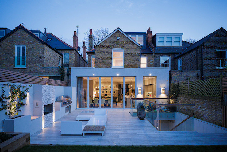 Chevening Road, London, NW6 Modern houses by GPAD Architecture & Interior Design Modern