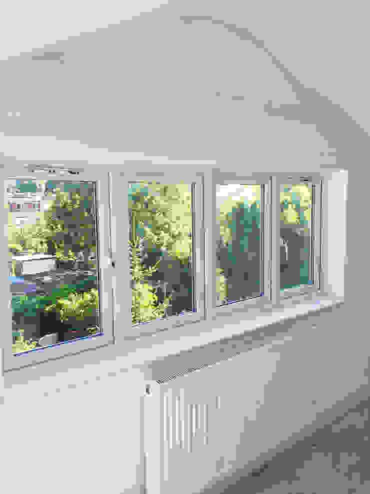 Loft Window View - As Built Arc 3 Architects & Chartered Surveyors
