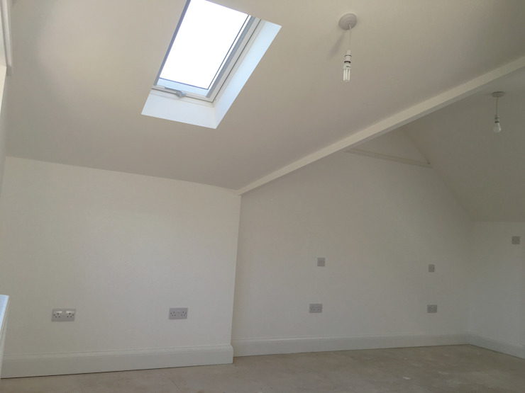 Loft Interior - As Built by Arc 3 Architects & Chartered Surveyors