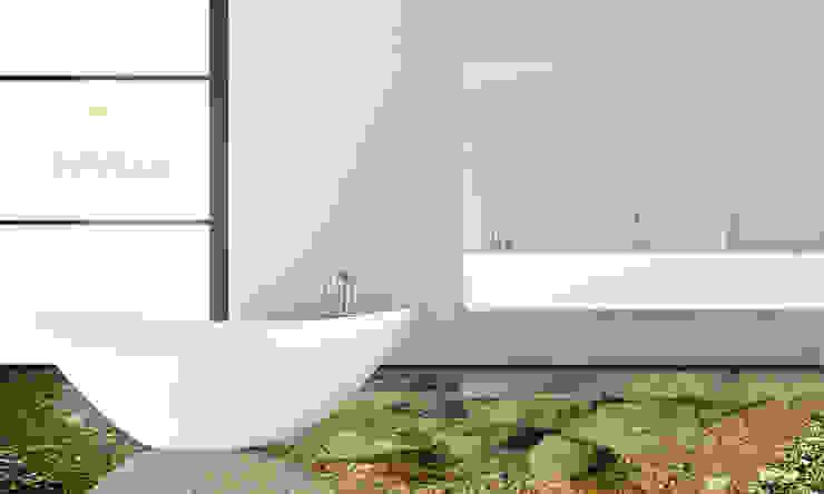 Modern bathroom by Mitko Glas Design Modern گلاس