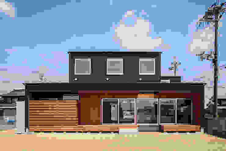 現代房屋設計點子、靈感 & 圖片 根據 祐建築設計事務所 現代風