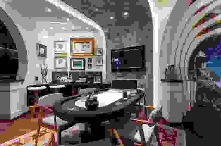 Decoração de Sala de Jogos | Salvador-Ba Salas multimídia modernas por Maria Julia Faria Arquitetura e Interior Design Moderno