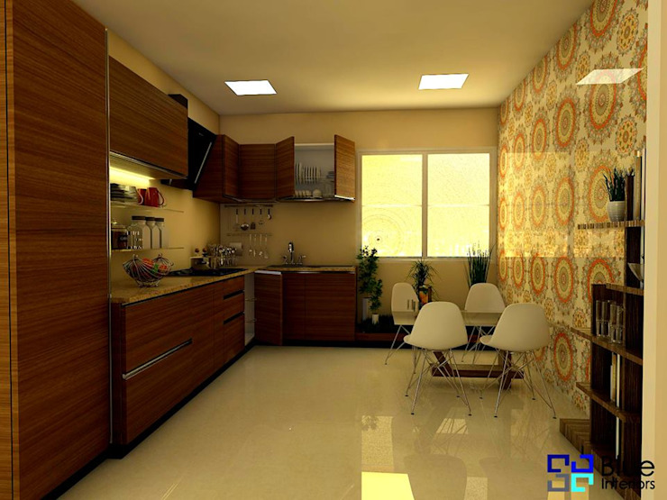 Mr. Santosh Project by Blue Interiors by homify