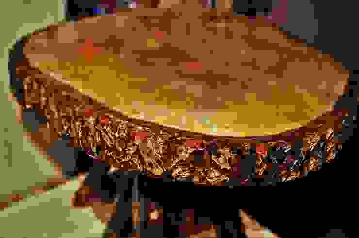 walnut table(ceviz masa/sehpa) Coşkun Ahşap Dekorasyon Rustik Ahşap Ahşap rengi