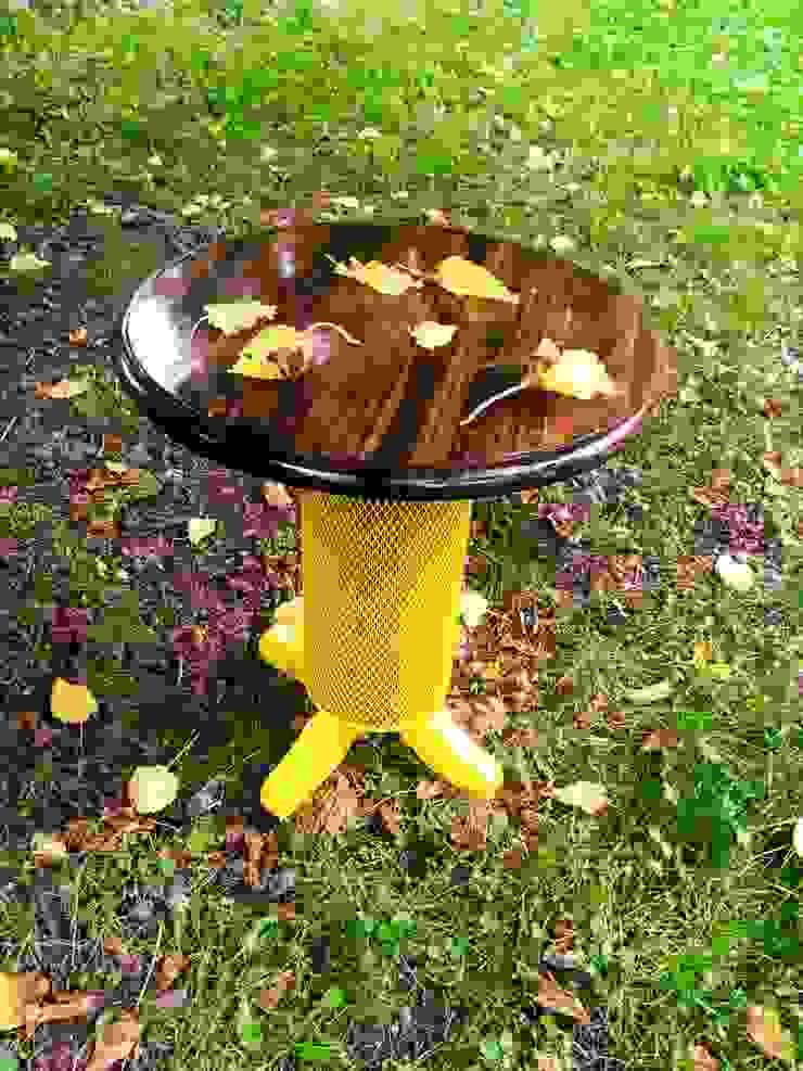 sarı sac gövde,vernikli sehpa Coşkun Ahşap Dekorasyon Rustik Ahşap Ahşap rengi