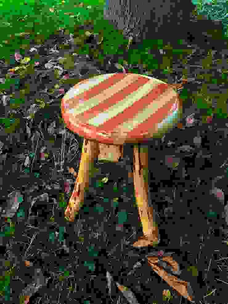 tabure (stool) Coşkun Ahşap Dekorasyon Rustik Ahşap Ahşap rengi