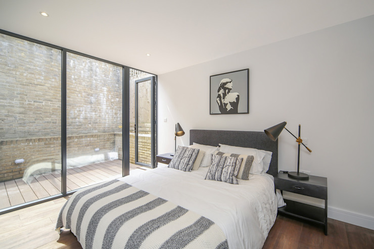 Douro Street, London:  Bedroom by GPAD Architecture & Interior Design,