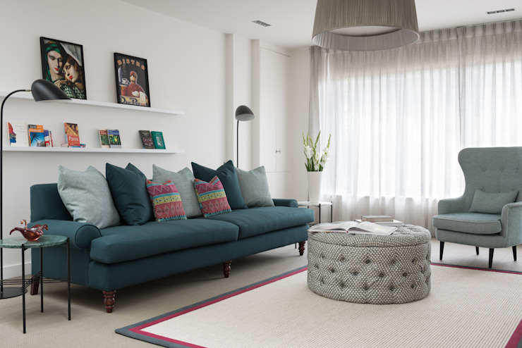 Living Room Livings modernos: Ideas, imágenes y decoración de SWM Interiors & Sourcing Ltd Moderno
